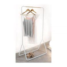 Compactor kledingrek Elias - wit  | Xenos 60 Kg, Plank, Wardrobe Rack, Interior, Furniture, Home Decor, Bedroom, Kids, Homemade Home Decor