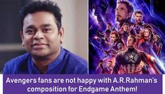 We grew up listening to masterpiece song compositions of A. Rehman but this time fans do not seem to be influenced by his anthem for Avengers: Endgame. Maybe the reason for this is our high expectations from the Legend? A R Rahman, Motivational Songs, High Expectations, Going Crazy, New Movies, Growing Up, All About Time, Avengers, Random Stuff
