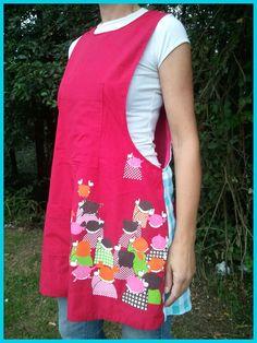 umez inguraturik!!! Kids Vest, Sewing Tutorials, Apron, Chelsea, Pattern, Crafts, Clothes, Fashion, Kids Apron