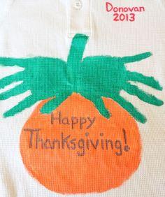 Thanksgiving Handprint Crafts Handprint Pumpkin