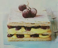 Welcome to goodies world: Puff pastry with fruit
