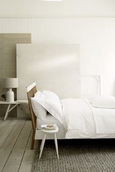 white bed linen - general store - magpie and squirrel