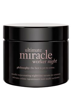 philosophy 'ultimate miracle worker night' multi-rejuvenating nighttime serum-in-cream available at #Nordstrom