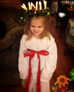 st. lucia day my granddaughter
