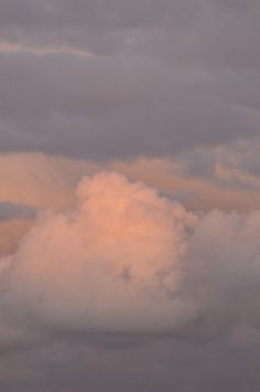 Clouds just seem to be so soft.