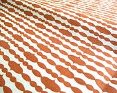 Swanky Swell - Modern Organic Fabric - Raindrops - Orange Stripes