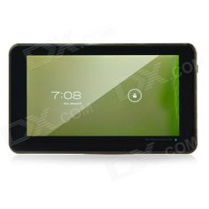"K86VAPH-21 7"" Dual Core Android 4.1 Tablet PC w/ 512MB RAM, 4GB ROM, Camera, Wi-Fi, TF - Black #Tablet #PC #Sale #Cheap"