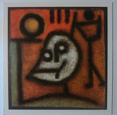 Fine Art  Death and Fire  by Paul Klee Artwork Reproduction
