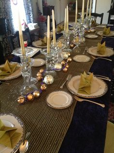 New holiday tablescape