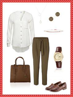 Business-Look mit Loafer – dein Büro-Outfit für morgen!