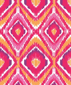 Clementine Ikat. Vera bradley Textile Design, Fabric Design, Pattern Design, Mac Wallpaper, Computer Wallpaper, Vera Bradley Sale, Fabric Patterns, Print Patterns, Vera Bradley Patterns