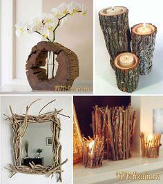 Сухие ветки в декоре интерьера + Фото » Дизайн & Декор своими руками