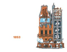 1 | 750 Years Of Parisian History, As Told Through Architectural Illustrations | Co.Design | business + design