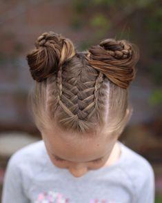 Braided Hairstyle、Children、Kids、For School、Little Girls、Children's Hai… - Hair Styles For School Sporty Hairstyles, Kids Braided Hairstyles, Flower Girl Hairstyles, Fancy Hairstyles, Little Girl Hairstyles, Female Hairstyles, Toddler Hairstyles, Teenage Hairstyles, Hairstyles Pictures