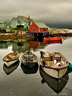 Peggy's Cove, Nova Scotia..