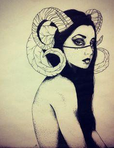 (fantasy art, demon, succubus)..