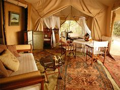 Cottars 1920s Camp - Colonial-style interiors