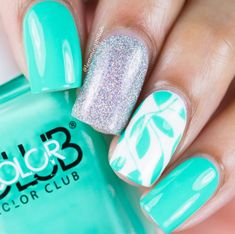 45 Spring Nail Art Designs - Nail Art Ideas for Spring 2019 Manicures Spring Nail Colors, Spring Nail Art, Spring Nails, Summer Nails, New Nail Designs, Nail Designs Spring, Cute Nails, My Nails, Manicure E Pedicure