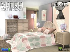 Here for your sims a new adult bedroom. Found in TSR Category 'Sims 4 Adult Bedroom Sets' Teen Bedroom Furniture, Sims 4 Cc Furniture, Bedroom Decor, Pink Furniture, The Sims, Sims Cc, Muebles Sims 4 Cc, Sims 4 House Plans, Sims 4 Mods Clothes