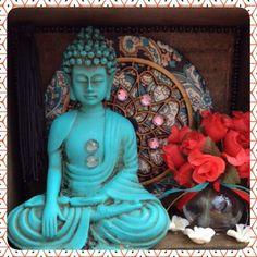 Altar, Ganesha, Gautama Buddha, Tin Boxes, Box Art, Wonderful Things, Decoupage, Religion, Frame