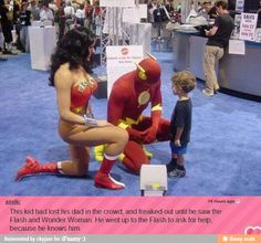 Hope in humanity, RESTORED. OK, in Comicon at least Just so Cute!!