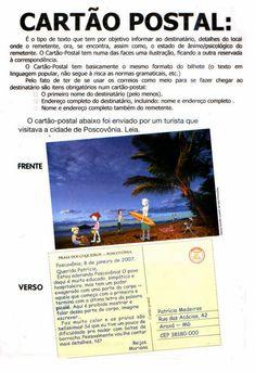 Companheiros da Educação: Gêneros Textuais Prontos Para Imprimir Learn Portuguese, Small Talk, New Art, Professor, Dog Cat, Education, School, Life, Writing Ideas
