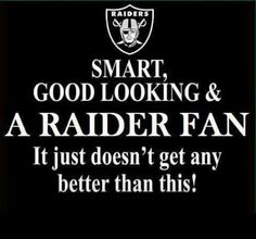 ♥ Smart, Good Looking & A Raider Fan ● It Just Doesn't Get Any Better Than This! ♥