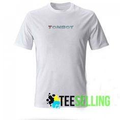 Tomboy White T-shirt Adult Unisex For men and women Price: 15.50 #tshirt Cute Graphic Tees, Graphic Shirts, Cheating Men, Men And Women, Tomboy, Workout Shirts, How To Look Better, Unisex, Mens Tops