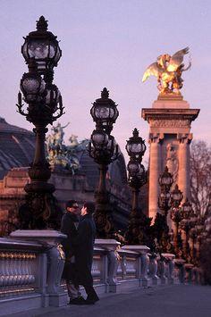 Pont Alexandre III, Cours la Reine, Quai d'Orsay, Paris VIII
