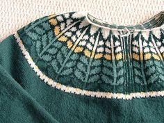 Lloie's Cardigan / Yoke Sweater WG79 by Elizabeth Zimmermann and Meg Swansen - $6.00 USD