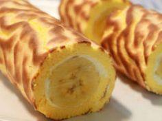 Když jsem u babičky jedla tuto fantastickou banánovou rolku, chtěla jsem od ní okamžitě recept.