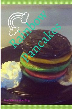 Are you looking to make your children's St. Patrick's Day fun and exciting? What better way than with these easy rainbow pancakes that they are sure to love. They won't be disappointed, trust me. Grab the recipe here. Rainbow Pancakes, Rainbow Donut, Pancakes Easy, Rainbow Invitations, Candy Sprinkles, Different Holidays, Red Candy, Rice Krispie Treats, Holiday Activities