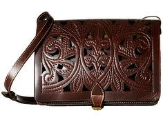Patricia Nash Cutout Tooled Imperialli Crossbody