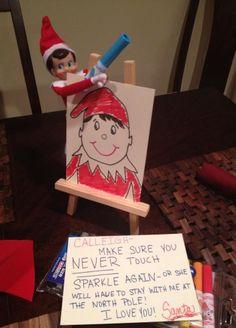 200 Easy Elf on the Shelf Ideas - Raining Hot Coupons by leann All Things Christmas, Christmas Holidays, Christmas Ideas, Merry Christmas, Christmas 2019, Holiday Crafts, Holiday Fun, Holiday Decorations, Holiday Ideas