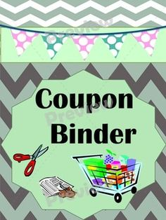 Save lots of money for your family on your next shopping trip by using coupons. This cheerful, colorful binder will help keep you organized and ready to save money as you have all your coupons on hand and easy to find.  Included are activities for kids to do and share what they know about saving money.Happy Shopping. #coupons #shopping