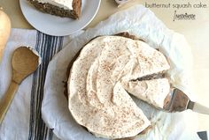 Butternut squash cake that is sugar free and absolutely delicious!  We love that this recipe uses natural ingredients and is still simple.