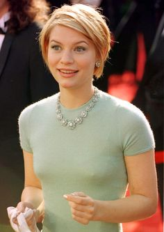 Claire Danes In Asprey Daisy Necklace, 1997 Oscars