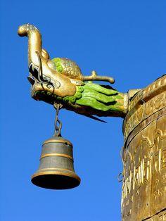 Roof Bell - Jokhang Monastery, Lhasa, Tibet