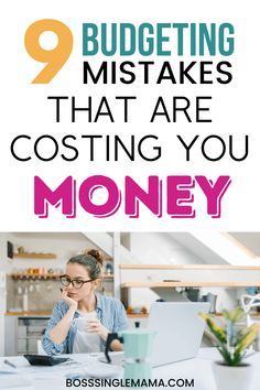 Are you making these common budgeting mistakes? If so, they could be costing you major money! Learn how to fix your budget and stop money leaks! Budgeting Finances, Budgeting Tips, College Motivation, Budget App, Money Saving Mom, Making A Budget, Good Essay, How To Stay Motivated, Personal Finance