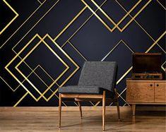 Accent Walls In Living Room, Living Room Bedroom, Bedroom Wall, Feature Wall Living Room, Look Wallpaper, Photo Wallpaper, Wallpaper Murals, Best Living Room Wallpaper, 3d Wall Murals