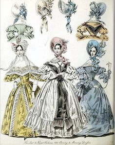The World of Fashion and Continental Feuilletons 1836 Plate 30