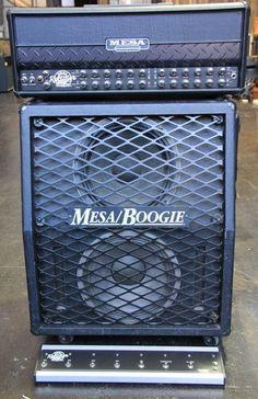 Mesa Boogie Dual Rectifier Roadster 100 Watt Amp Head 2x12 Cab