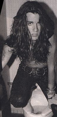 Rachel Bolan. Never heard Rachel used as a guy's name, but he's super talented and super sexy so who cares