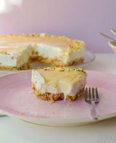 Greek yogurt cheesecake, ricotta cheesecake, no bake cheesecake, kid desser Healthy Pastas, Healthy Meals For Two, Healthy Desserts, Easy Desserts, Dessert Recipes, Diet Desserts, Greek Yogurt Cheesecake, Ricotta Cheesecake, No Bake Cheesecake