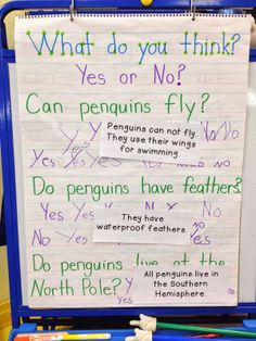 Many of you live where you never get snow days, especially for inches of snow. :-) Let me cheer you up with some cute penguin activities. Anchor Charts, Tacky The Penguin, Pre K Activities, Winter Activities, Classroom Activities, Classroom Setup, Learning Activities, Artic Animals, Penguin Craft