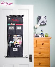 Use Thirty-One's Hang-Up Room Organizer and you'll stay organized the whole semester – we promise!