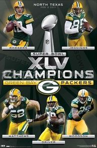 Green Bay Packers- Super Bowl XLV Champs! #wisconsin
