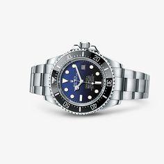 Entdecken Sie die neue Rolex Deepsea mit blauem Zifferblatt, eine neue Generation von Taucherarmbanduhren. Erfahren Sie mehr über dieses Modell auf der offiziellen Webseite von Rolex.