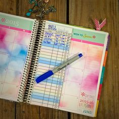 Bill Tracker Laminated Insert for your Erin by RosieRyeAccessories