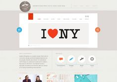Slideshow buttons | http://www.ludlowkingsley.com via @url2pin